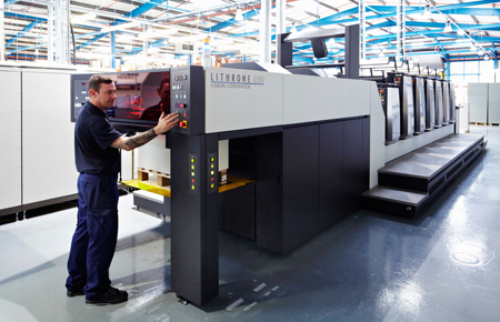 Komori Lithrone G29