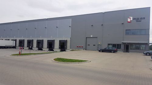 P. van der Velde factory in Poland